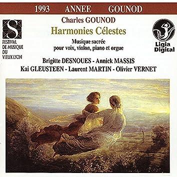 """Gounod: """"Harmonies célestes"""" (Musique sacrée pour voix, violon, piano & orgue)"""