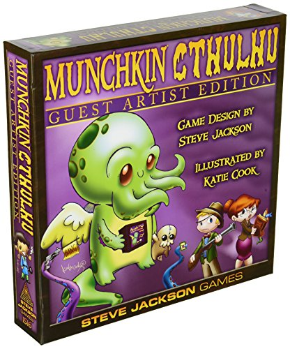 Steve Jackson Games sjg01516–Juego de Cartas Munchkin Cthulhu Guest Artist Edition