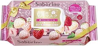 Saborino サボリーノ 目ざまシート 朝プレミアム 白いちご 28枚 フェイスマスク