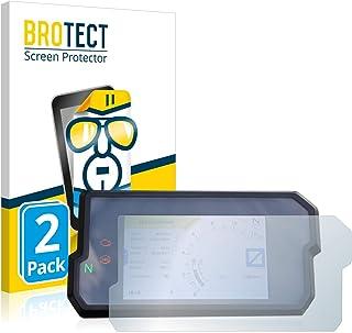 BROTECT 2x Schermbeschermer compatibel met KTM 390 Duke 2017 Screen protector transparant
