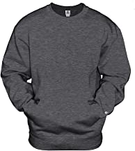 Badger Athletic Fleece Pocket V-Notch Crewneck Sweatshirt