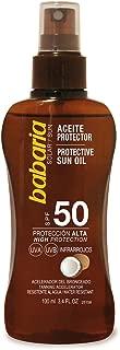 Babaria Aceite Protector Solar Coco SPF50-100 ml
