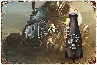 Fallo-ut Dark Bum Zap That Thirst Nuka Cola World Atomic Bomb Drink T Art Tin Sign 30*40cm vintage home accessories displa...