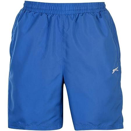 Slazenger Mens 2 Pockets Mesh Briefs Woven Shorts Pants Bottoms (Large, Royal Blue2)