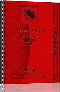 International Harvester 784 Tractor Parts Manual