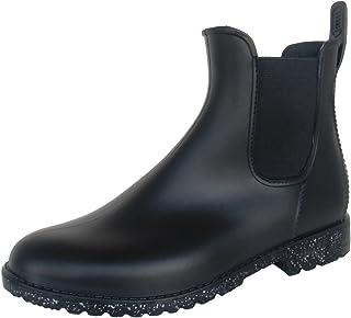 長靴 雨靴 完全防水 レインシューズ サイドゴア ショート ガーデニング ラメ グリッター 通勤 通学 2色 レディース