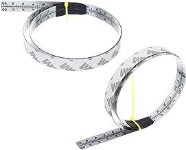 somubi Cinta métrica autoadhesiva de acero inoxidable para sierra de ingletar para router T-Track de la banda de la tabla de sierra de mesa de sierra de mesa herramientas de carpintería