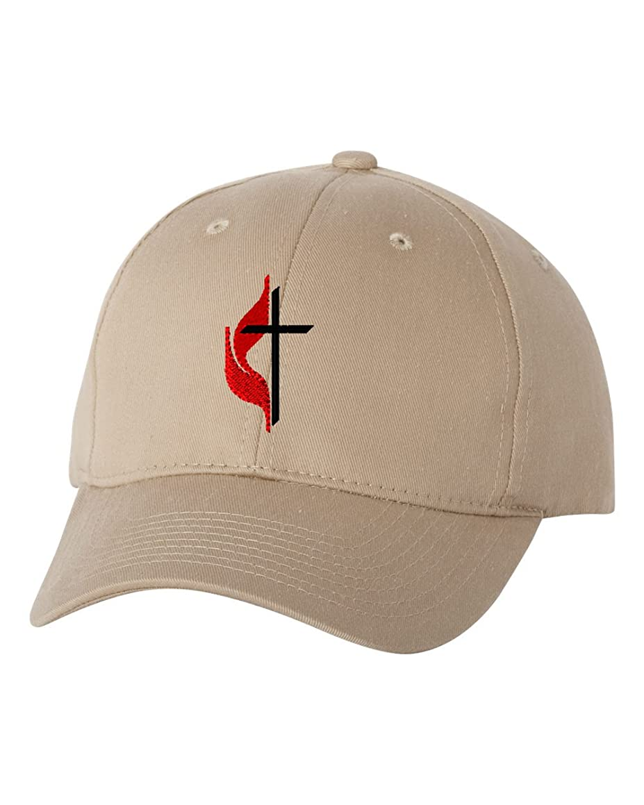 Methodist Cross Custom Personalized Embroidery Embroidered Baseball Hat Cap