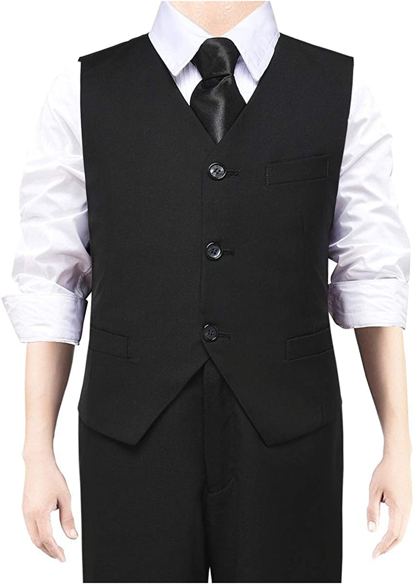 SaiLiiny Boys Vest 3 2021 free Buttons for Adjustable Class Suits Kid