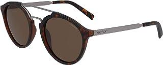 نظارة شمسية للرجال من نوتيكا، باللون البني، 53 ملم، طراز N3645SP