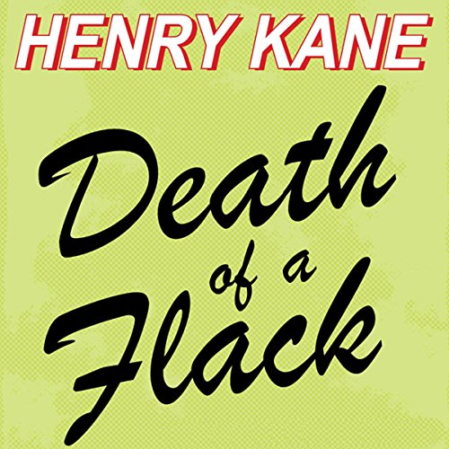 Death of a Flack audiobook cover art