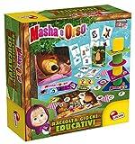 Lisciani Giochi- Masha Raccolta Gioco Educativo Prescolari e Baby, Edizia Italia, Multicolore, 84432