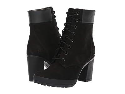 Timberland Camdale 6 Boot (Black Nubuck) Women