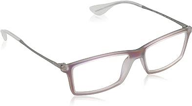 Ray-Ban Men's RX7021 Eyeglasses Iridescent Violet 52mm