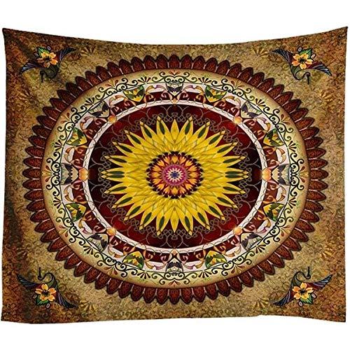 Grote Maat Muur Mandala Tapestry Bohemian wandkleed Art Tapijt Deken Yoga Mat Decorative Vintage Green Tapestry for Huis