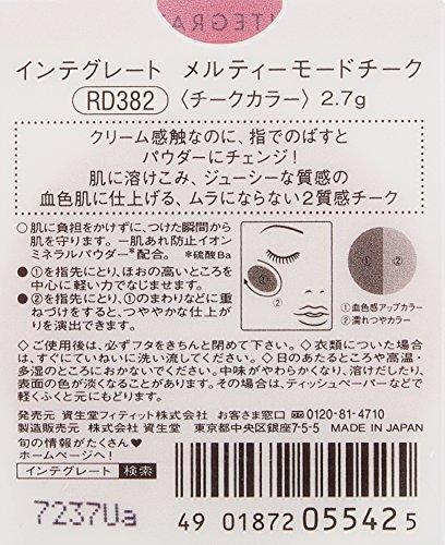 インテグレートメルティーモードチークRD3822.7g