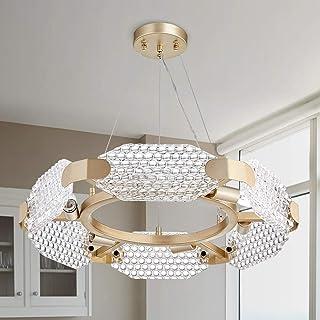 TZOE Crystal Pendant Light,Modern Chandelier,6-Light...