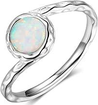 hammered platinum ring