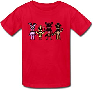 Kid's Cute Five Nights At Freddy S T-shirts By Mjensen