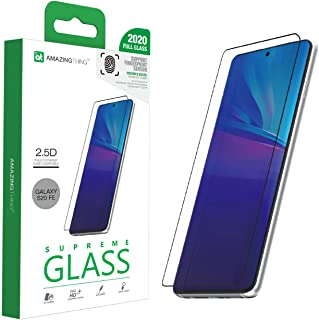 Amazing Thing Samsung Galaxy S20 FE Tempered Glass Screen Protector - Fully Covered 2.5D Supreme Glass Ex Bullet Fingerpri...