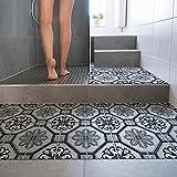 wall art 15 Piezas 20x20 cm - PP00012 Adhesivo de decoración de PVC para Suelos con Material transitable. - Stickers Design - Marsiglia
