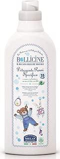 Bollicine Baby Laundry Liquid Eco Organic Vegan Dermatology Tested 1ltr 33 Loads