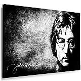 Bild auf Leinwand Beatles Lennon l Bild 100x70cm k. Poster.
