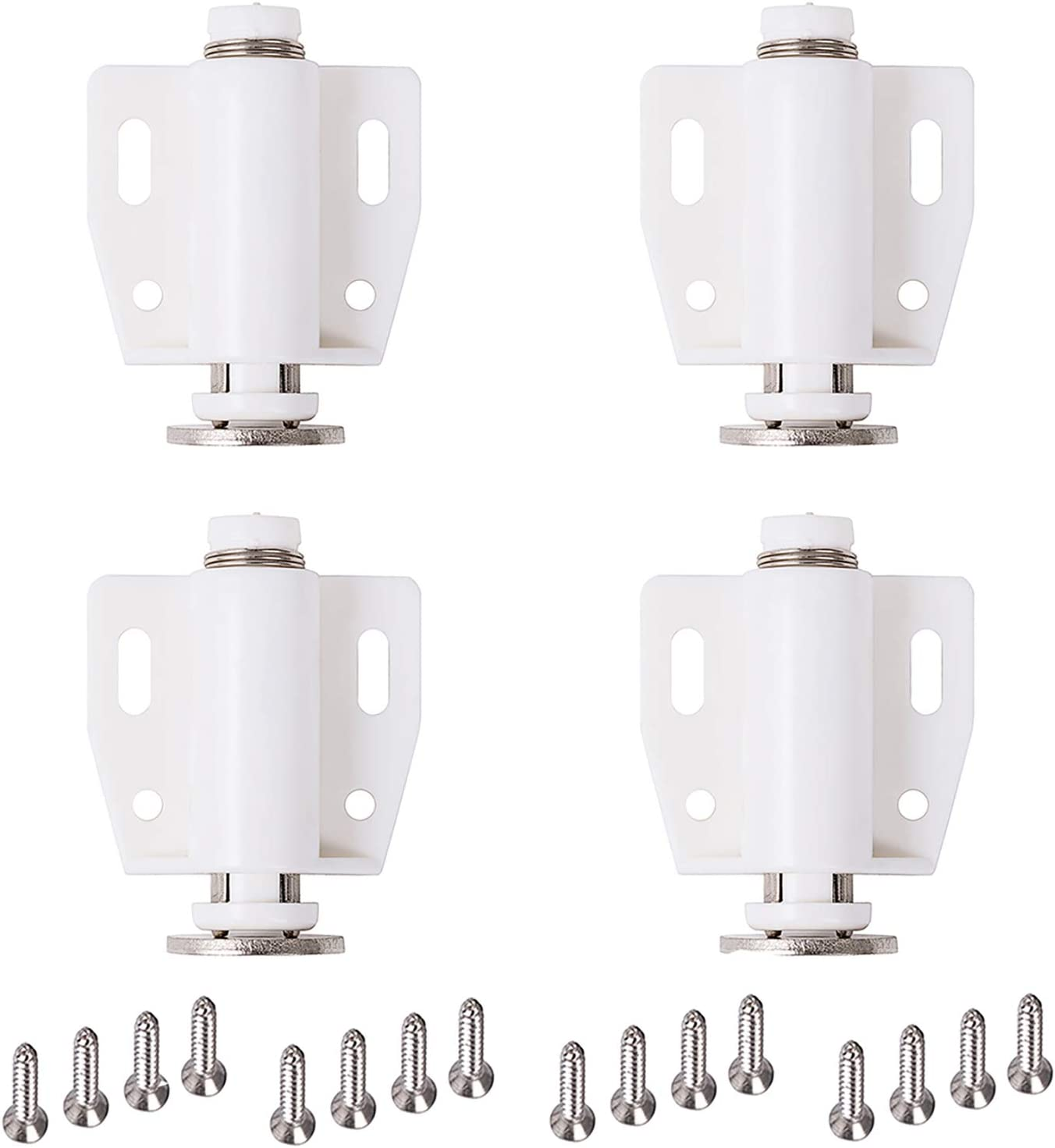 DonYoung Magnetic Some reservation Touch Latch 4 Pack Push Open Lat Cabinet Door Max 51% OFF