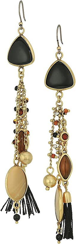 Lucky Brand - Mixed Media Statement Earrings