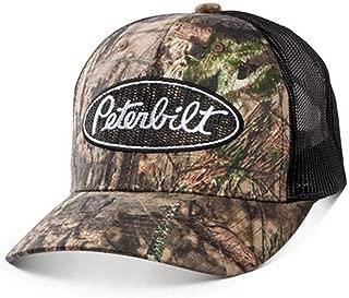Peterbilt Mossy Oak Mesh Logo Camouflage Break-Up Country Cap