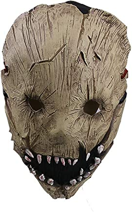 Molagogo Game Dead by Daylight The Trapper Mask Cosplay Adult Halloween Party Resin Mask Handmade