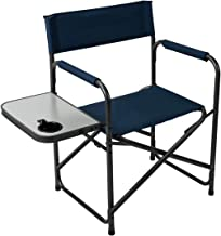 Pacific Pass Camping Directors Chair Folding Portable...
