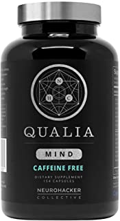 Qualia Mind Nootropic | Premium Brain Booster Supplement for Memory, Focus, Clarity and Concentration Support with Bacopa ...