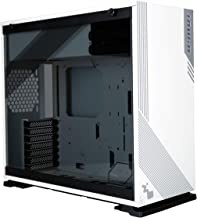 InWin 1-Series Addressable RGB Mid-Tower Gaming Case Tempered Glass White/Gray (103 White)