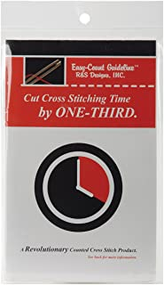 R & S Designs Easy-Count Guideline, 100-Yard, Red