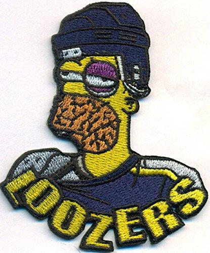 LOOZERS Homer Simpson Eishockey Icehockey Fanclub Trikot Aufnäher Patch Aufbügler