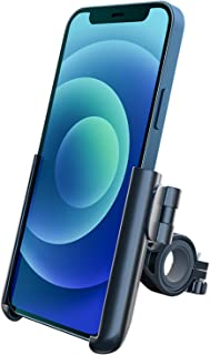دارنده تلفن هندل دوچرخه Grefay Universal Bike Mount دارنده تلفن انتشار سریع دارنده تلفن دوچرخه برای Road Bike MTB اسکوتر با چرخش 360 برای تلفن های هوشمند 3.5-7.0 اینچ (سیاه)