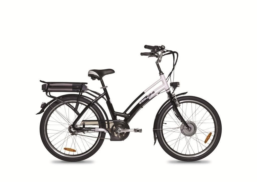 Easybike 3760130000000 - Bicicleta, 42 cm, Color Negro/Blanco: Amazon.es: Deportes y aire libre