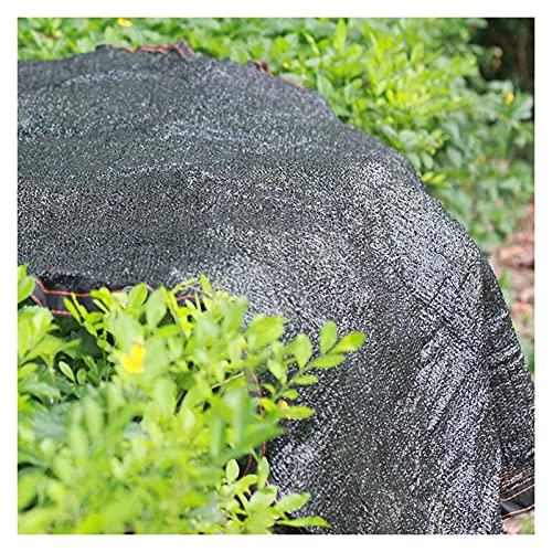 ZWYSL Red Sombra Tasa Sombreado del 85% para La Cubierta La Sombra Pérgola Resistente Balcón del Invernadero del Jardín (Color : Negro, Size : 2×3m)