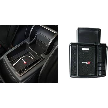 Auto Handschuhfach Armlehne Aufbewahrungsbox Organizer Mittelkonsole Tablett f/ür Q5/2008 2017