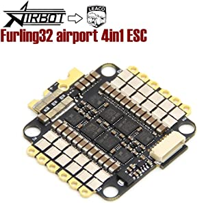 Airbot Furling32 4in1 Airport ESC - F3 32bit BLHELI ESC 4x50A Flat Design for Quadcopter Drone leaco