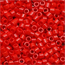 Miyuki Delica Seed Beads 11/0 Opaque Red DB723 7.2 Grams