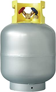 Industrial Grade 4LZH3 Refrigerant Recovery Cylinder, 50 Lbs