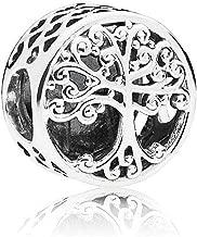 SUNWIDE Family Tree of Life Charm fit Pandora Charms Bracelets