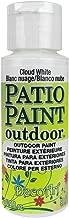DecoArt DCP14-9 Patio Paint, 2oz, Cloud White