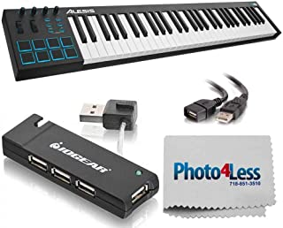Alesis V61   61-Key USB MIDI Keyboard & Drum Pad Controller + Accessories