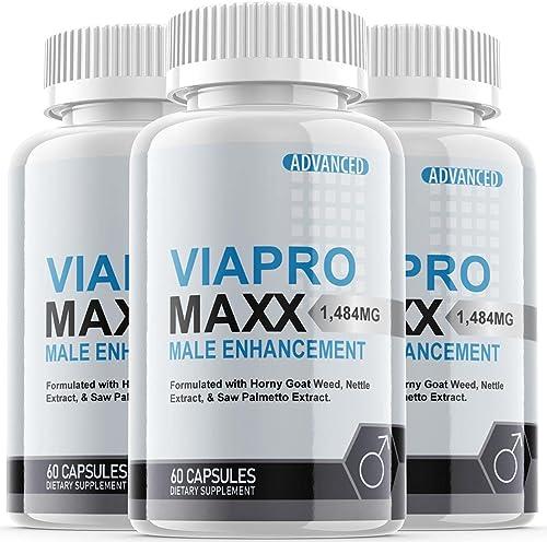 new arrival Viapro Maxx 2021 Male Pills (3 popular Pack) online sale