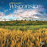 Wisconsin Wild & Scenic 2022 7 x 7 Inch Monthly Mini Wall Calendar, USA United States of America Midwest State Nature