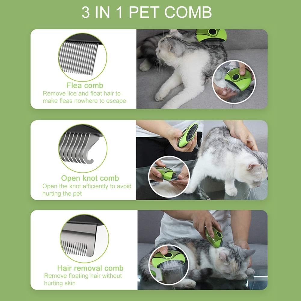 Cepillo para perros y gato para cabello largo | Rollo para depiladores de animales Recorte la rastra, el removedor de pelo de perro / gato, el cepillo para quitar la piel de