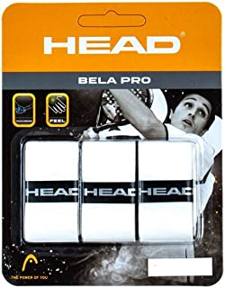 Head Bela Pro Overgrip, Unisex Adulto, Blanco, Talla Única: Amazon ...